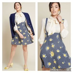 "ModCloth ""Overall Winner"" Print Mix Jumper Dress"